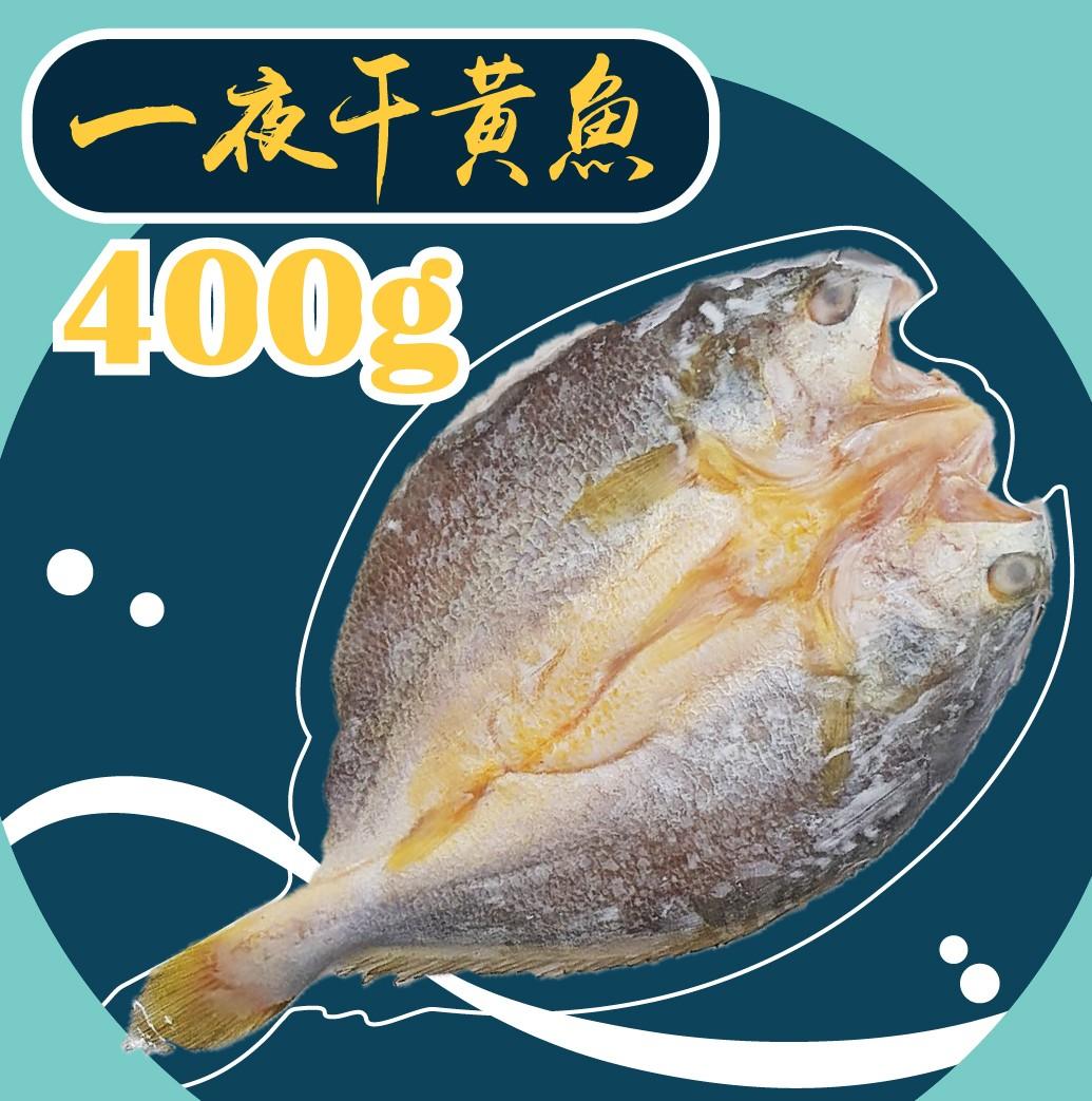 【冷凍】黃魚一夜干-400g