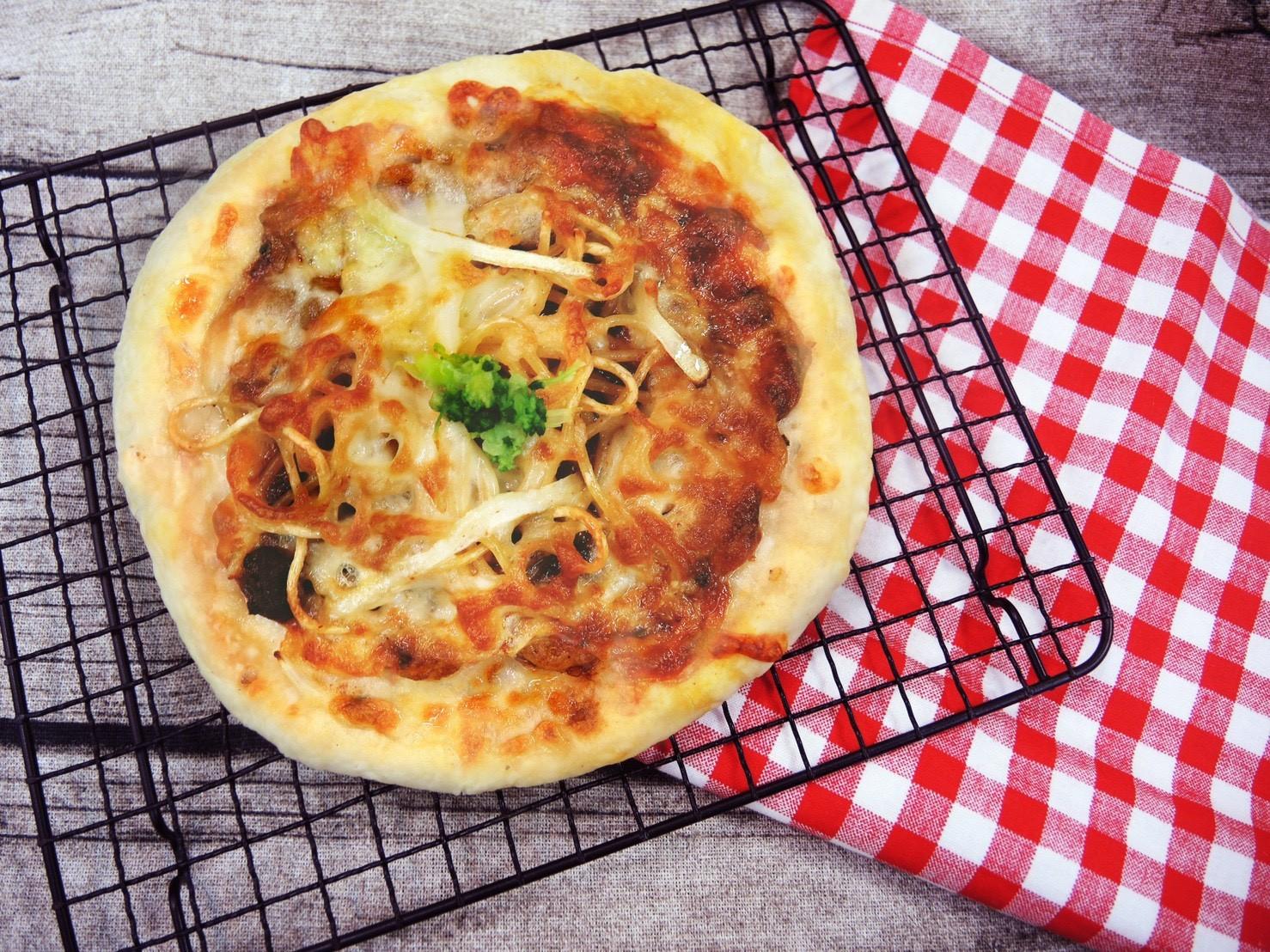 【冷凍】聯名披薩-馬祖紅糟肉醬義大利麵披薩